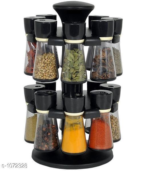 Eclat  Spice Jars( 16 Pieces Set)