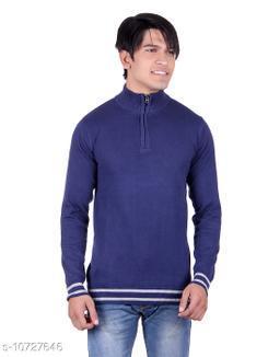 Ogarti cotton Half Zip  Navy Colour Sweater