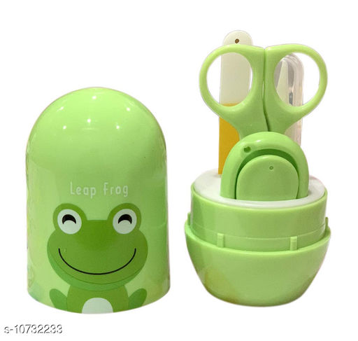Baby Personal Care 4-in-1 Grooming Kit/Manicure Kit for Babies/Infants/Toddler with Scissors, Nail Clipper, Filer, Tweezer (Green) (Cartoon May Very)   *Product Name* Grooming Kit  *Material* Plastic  *Product Type* Grooming Kit  *Capacity* 99grm  *Multipack* Pack of  1  *Sizes Available* Free Size *    Catalog Name:  Baby Personal Care CatalogID_1972954 C51-SC1664 Code: 523-10732233-