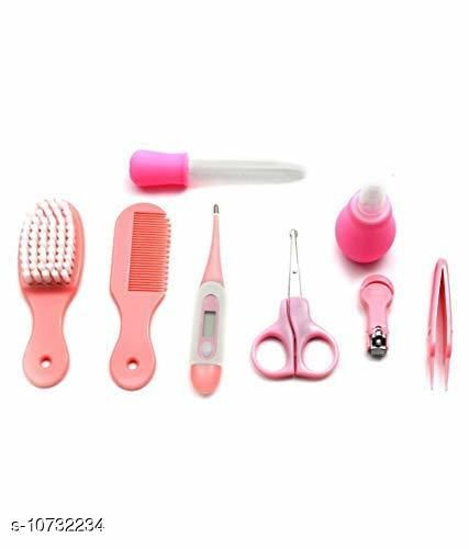 Baby Personal Care Health Care Kit for Newborn Baby 8-in-1 Grooming Kit/Manicure Kit for Babies/Infants/Toddler (Pink)   *Product Name* Grooming Kit  *Material* Plastic  *Product Type* Grooming Kit  *Capacity* 149grm  *Multipack* Pack of  1  *Sizes Available* Free Size *    Catalog Name:  Baby Personal Care CatalogID_1972954 C51-SC1664 Code: 966-10732234-