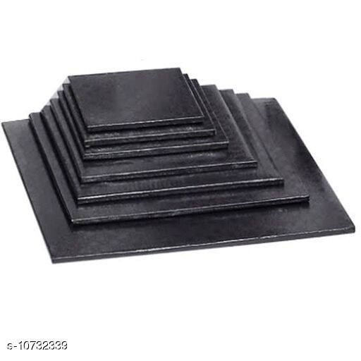 Others Cake Board  *Material* Cast Iron  *Pack* Multipack  *Breadth* 7 Inch  *Sizes*  Free Size  *Sizes Available* Free Size *    Catalog Name: Chocolates, cakes and fudges CatalogID_1972999 C84-SC1282 Code: 125-10732339-