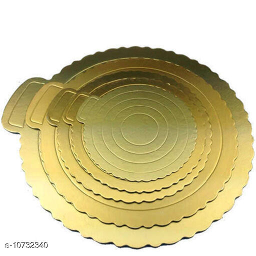 Others Cake Board  *Material* Cast Iron  *Pack* Multipack  *Breadth* 7 Inch  *Sizes*  Free Size  *Sizes Available* Free Size *    Catalog Name: Chocolates, cakes and fudges CatalogID_1972999 C84-SC1282 Code: 125-10732340-