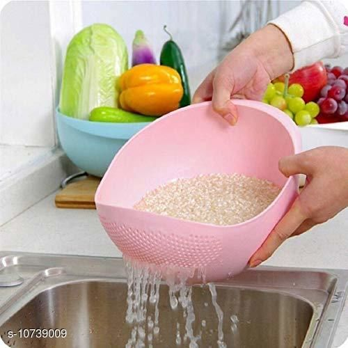 Food Strainers Rozzby Rice Bowl Rozzby Rice Bowl  *Sizes Available* Free Size *    Catalog Name: Classic Washing Bowl CatalogID_1974550 C135-SC1649 Code: 333-10739009-