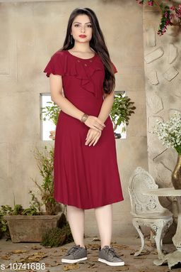 Stylish Rayon dresses for Women & Girls