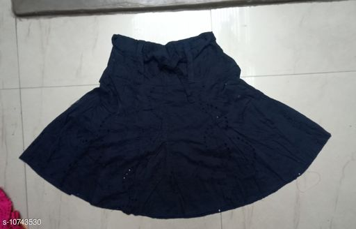 Ethnic Bottomwear - Skirts Ethnic Bottomwear - Skirts  *Fabric* COTTON CHIKEN  *Multipack* 1  *Pattern * Embroidery  *Sizes* S, M, L ( Waist Size  *Sizes Available* S, M, L *    Catalog Name: Myra Drishya Women Ethnic Skirts CatalogID_1975469 C74-SC1013 Code: 065-10743530-