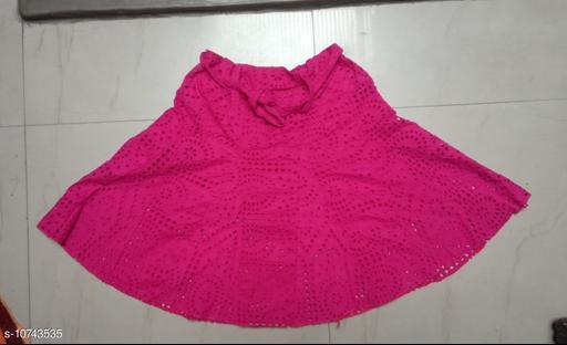 Ethnic Bottomwear - Skirts Ethnic Bottomwear - Skirts  *Fabric* COTTON CHIKEN  *Multipack* 1  *Pattern * Embroidery  *Sizes* S, M, L ( Waist Size  *Sizes Available* S, M, L *    Catalog Name: Myra Drishya Women Ethnic Skirts CatalogID_1975469 C74-SC1013 Code: 065-10743535-