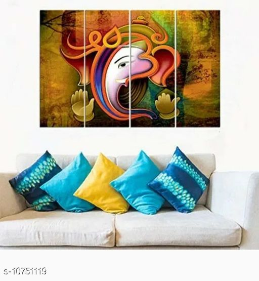 Paintings & Posters Unique Paintings  *Material* MDF Wood  *Pack* Multipack  *Sizes Available* Free Size *    Catalog Name: Trendy Paintings CatalogID_1977404 C127-SC1611 Code: 344-10751119-