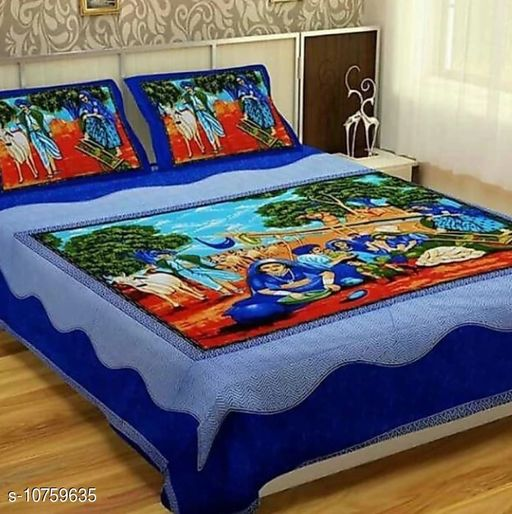 Trendy Bedsheet 100X90 With Pillow 27 X 17