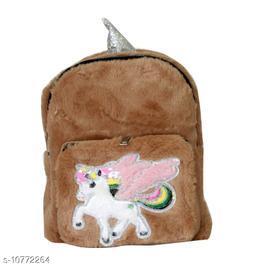 Unicorn Pocket Fur & Leather Bag
