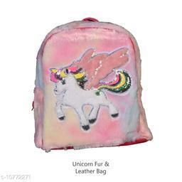 Unicorn Fur & Leather Bag