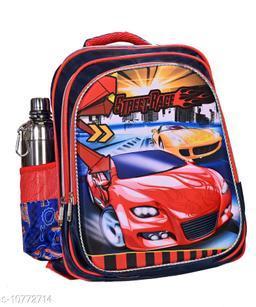 Monstor Truck/ Speedy Car Light 3D School Bag