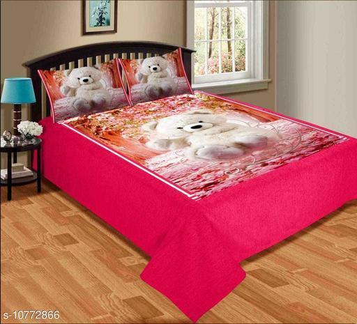 Trendy Velvet 90*100 Double Bedsheets