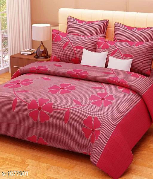 Beautiful 3D Printed Double Bedsheet