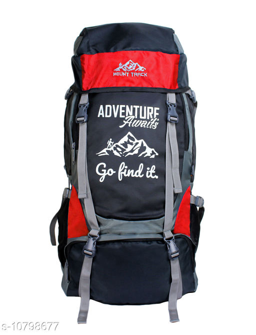 Mount Track Adventure Series 55 Ltrs Rucksack for Hiking & Trekking with Shoe Compartment