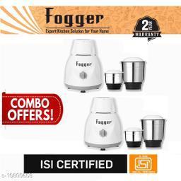 Fogger Dimond 500 Watt Mixer Grinder, 2 Jar (Set of 2)