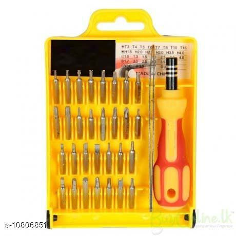Gold Collection 32 In 1 Interchangeable Precise Screwdriver Tool Set with Magnetic Holder