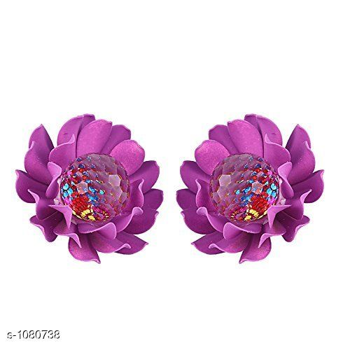 Princess Chunky Copper Gold Plated Earring