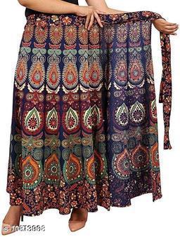 Designer Fabulous Women Wrap Around Cotton Skirts