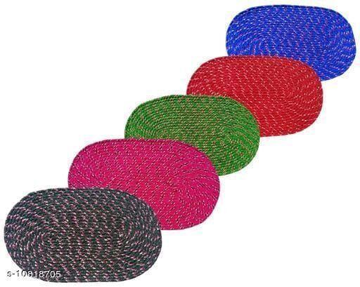 Doormats & Bath Mats Trendy Cotton Door Mats  *Material* Cotton  *Multipack* 5  *Sizes*  Free Size  *Sizes Available* Free Size *    Catalog Name: Ravishing Alluring Doormats CatalogID_1993654 C55-SC1118 Code: 992-10818705-
