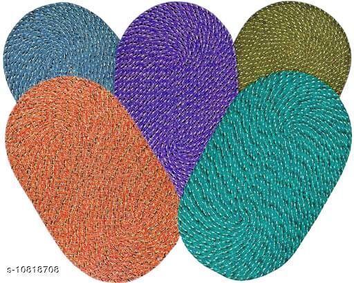 Doormats & Bath Mats Trendy Cotton Door Mats  *Material* Cotton  *Multipack* 5  *Sizes*  Free Size  *Sizes Available* Free Size *    Catalog Name: Ravishing Alluring Doormats CatalogID_1993654 C55-SC1118 Code: 992-10818708-