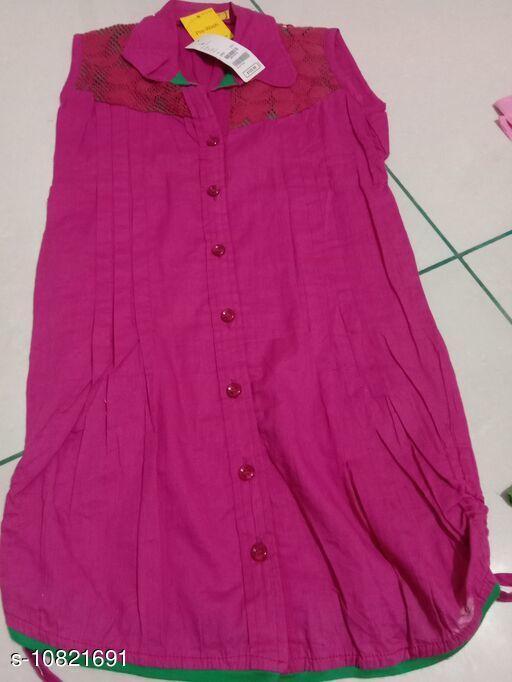Trendy Sleeveless Shirt for Girl