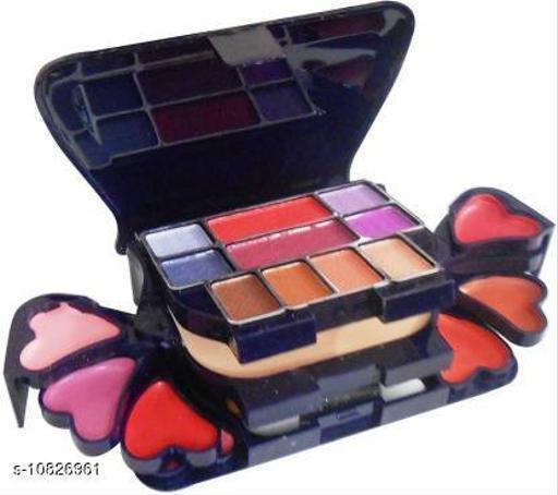 ADS Make-Up Kit New Fashion 22 Eyeshadow, 4 Lipgloss, 2 Blusher And 1 Compact Powder ()