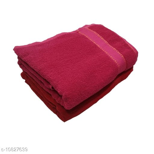 Bath & Beach Towels  Bath & Beach Towels Bath & Beach Towels fabric-cotton pack of 2 size-free  *Dispatch* 2-3 Days Easy Returns Available In Case Of Any Issue  *Sizes Available* Free Size *    Catalog Name:  Bath & Beach Towels CatalogID_1995990 C71-SC1110 Code: 626-10827639-
