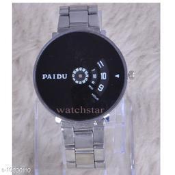 New design unique design analog watch for mens
