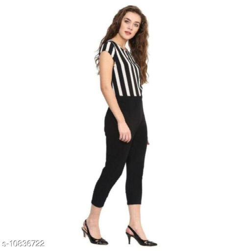 Medulla Fashion Crepe Jumpsuit