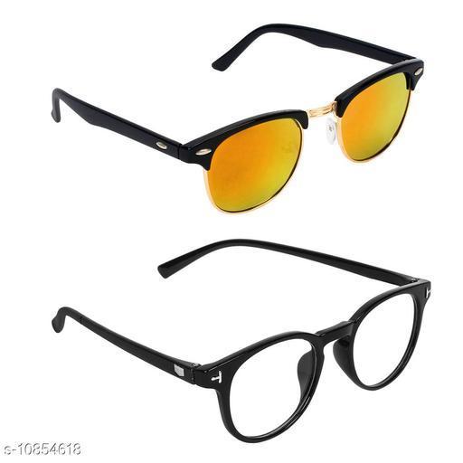 Eyekart Combo of 2 Sunglasses For Men and Women