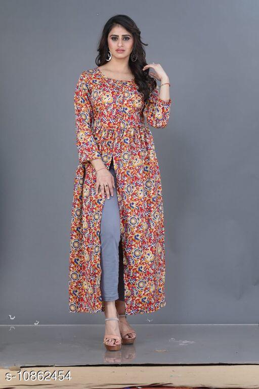 Fashionable Crepe Dress