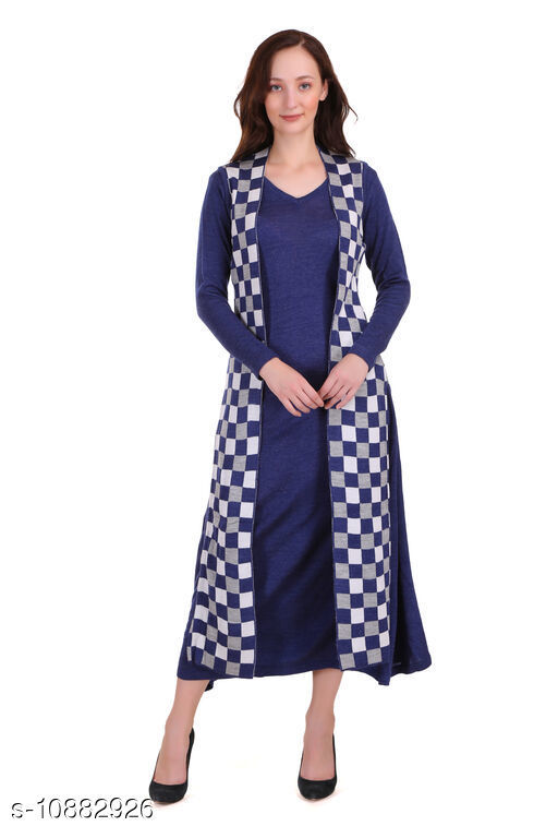 Ethnic Jackets & Shrugs SOLID KURTI WITH CHEQUERED LONG SHRUG Women Ethnic Jackets  *Fabric* Acrylic Blend  *Sleeve Length* Sleeveless  *Pattern* Checkered  *Combo of* Single  *Sizes*   *S (Bust Size* 36 in, Length Size  *M (Bust Size* 38 in, Length Size  *L (Bust Size* 40 in, Length Size  *XL (Bust Size* 42 in, Length Size  *XXL (Bust Size* 44 in, Length Size  *Sizes Available* S, M, L, XL, XXL *    Catalog Name: Ethnic Jackets & Shrugs CatalogID_2009514 C74-SC1008 Code: 5341-10882926-