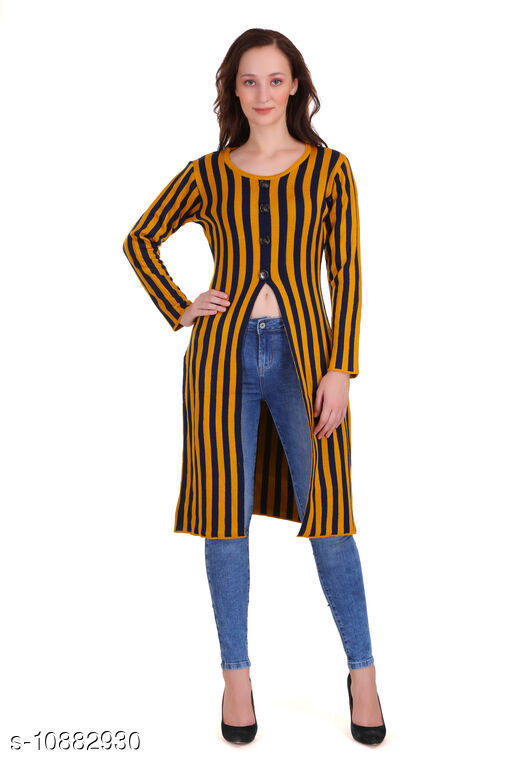 Ethnic Jackets & Shrugs SOLID KURTI WITH CHEQUERED LONG SHRUG Women Ethnic Jackets  *Fabric* Acrylic Blend  *Sleeve Length* Sleeveless  *Pattern* Checkered  *Combo of* Single  *Sizes*   *S (Bust Size* 36 in, Length Size  *M (Bust Size* 38 in, Length Size  *L (Bust Size* 40 in, Length Size  *XL (Bust Size* 42 in, Length Size  *XXL (Bust Size* 44 in, Length Size  *Sizes Available* S, M, L, XL, XXL *    Catalog Name: Ethnic Jackets & Shrugs CatalogID_2009514 C74-SC1008 Code: 5341-10882930-