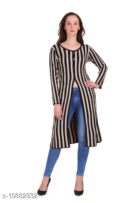 Ethnic Jackets & Shrugs SOLID KURTI WITH CHEQUERED LONG SHRUG Women Ethnic Jackets  *Fabric* Acrylic Blend  *Sleeve Length* Sleeveless  *Pattern* Checkered  *Combo of* Single  *Sizes*   *S (Bust Size* 36 in, Length Size  *M (Bust Size* 38 in, Length Size  *L (Bust Size* 40 in, Length Size  *XL (Bust Size* 42 in, Length Size  *XXL (Bust Size* 44 in, Length Size  *Sizes Available* S, M, L, XL, XXL *    Catalog Name: Ethnic Jackets & Shrugs CatalogID_2009514 C74-SC1008 Code: 5341-10882932-