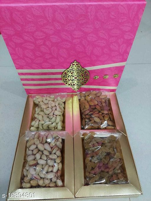 Bottles & Lunchboxes Classic Dry Fruit Boxes  *Material* ABS  *Pack* Pack of 1  *Country of Origin* India  *Sizes Available* Free Size *    Catalog Name: Classic Dry Fruit Boxes CatalogID_2012487 C63-SC1196 Code: 306-10894801-