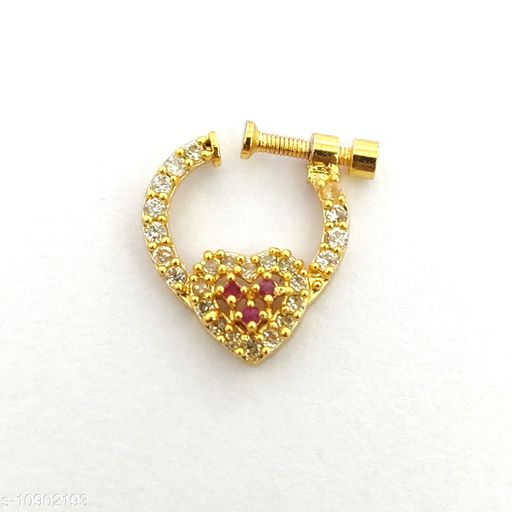 South Indian Style Nose Pin