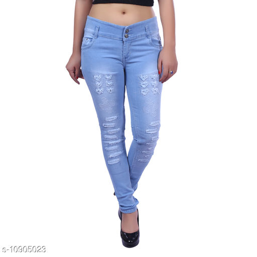 Jeans & Jeggings SLIM GIRL'S DESIGNER DENIM JEANS  *Fabric* Denim  *Pattern* Dyed/Washed  *Multipack* Single  *Sizes*  15-16 Years, 12-13 Years, 13-14 Years, 14-15 Years  *Country of Origin* India  *Sizes Available* 12-13 Years, 13-14 Years, 14-15 Years, 15-16 Years *    Catalog Name: Modern Stylus Girls Jeans & Jeggings CatalogID_2015112 C62-SC1154 Code: 676-10905023-