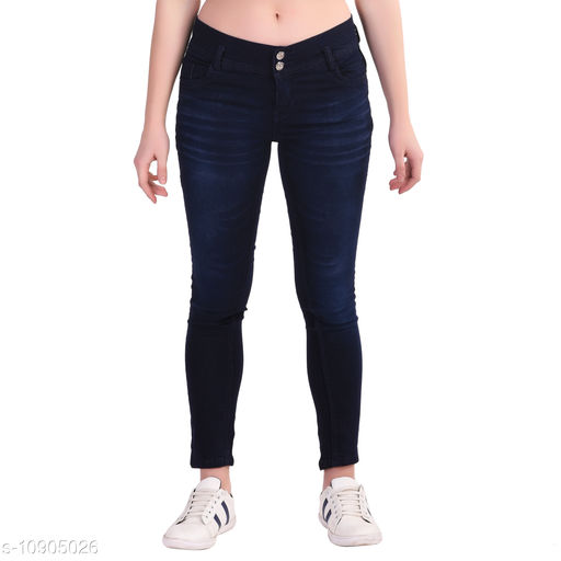 Jeans & Jeggings SLIM GIRL'S DESIGNER DENIM JEANS  *Fabric* Denim  *Pattern* Dyed/Washed  *Multipack* Single  *Sizes*  15-16 Years, 12-13 Years, 13-14 Years, 14-15 Years  *Country of Origin* India  *Sizes Available* 12-13 Years, 13-14 Years, 14-15 Years, 15-16 Years *    Catalog Name: Modern Stylus Girls Jeans & Jeggings CatalogID_2015112 C62-SC1154 Code: 676-10905026-