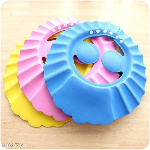 Caps BABY BATH CAP BABY BATH CAP  *Sizes Available* Free Size *    Catalog Name: Check out this trending catalog CatalogID_2018074 C63-SC1195 Code: 562-10917141-