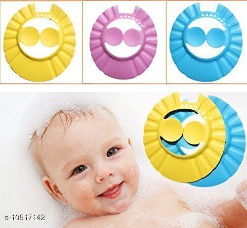Caps BABY BATH CAP BABY BATH CAP  *Sizes Available* Free Size *    Catalog Name: Check out this trending catalog CatalogID_2018074 C63-SC1195 Code: 562-10917142-