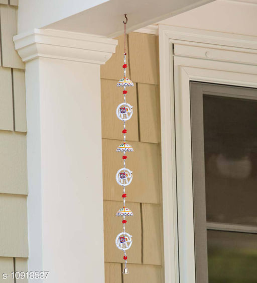 Light Weight (Doormats & Bath Mats) Multicolor Paper Mache and Thread HandCrafted Wind Chime Wall Hanging  *Material* Handicraft  *Pack* Pack of 1  *Sizes Available* Free Size *    Catalog Name: Essential Chimes CatalogID_2018399 C55-SC1726 Code: 791-10918537-