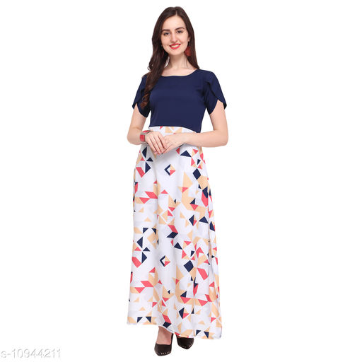 New Professional Dynamic Look Women Maxi Full Length Dresses