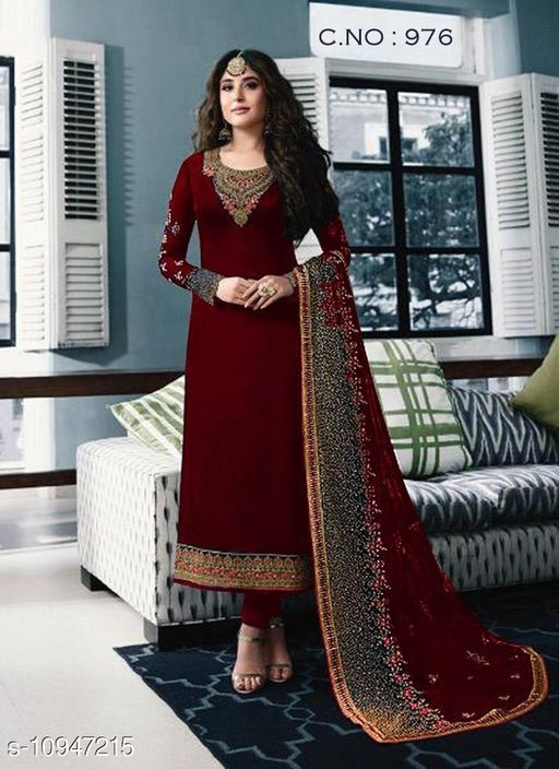Trendy Women's Semi Stitched Suits