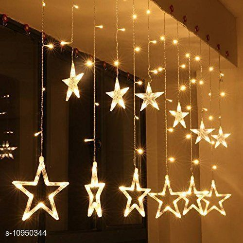 Electronic Lightings STAR LIGHT FOR DECORATION IN FESTIVAL   *Pack* Pack of 1  *Sizes Available* Free Size *    Catalog Name: Fancy Electronic Lightings CatalogID_2026776 C128-SC1314 Code: 326-10950344-