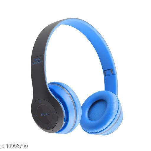 Trendy Plastic Bluetooth Headphones