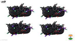 High Quality Diwali Decorative Multi-Color RGB Led String Light | Diwali, Christmas and Festive Decoration (Pack of 4) 10 Meter