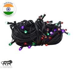 High Quality Made in India Diwali Decorative Multi-Color RGB Led String Light | Diwali, Christmas and Festive Decoration (Pack of 1) 10 Meter