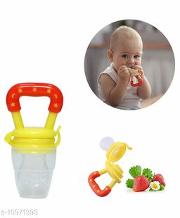 Tiny Tycoonz Baby Teether Soother/Nibbler/Food Pacifier/Fruit Feeder (Pack of 1 piece) Yellow