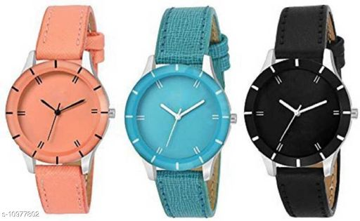 MMD New Stylish -G-605-Full SKY Blue- For Girls &Women Watch - For Girls Analog Watch