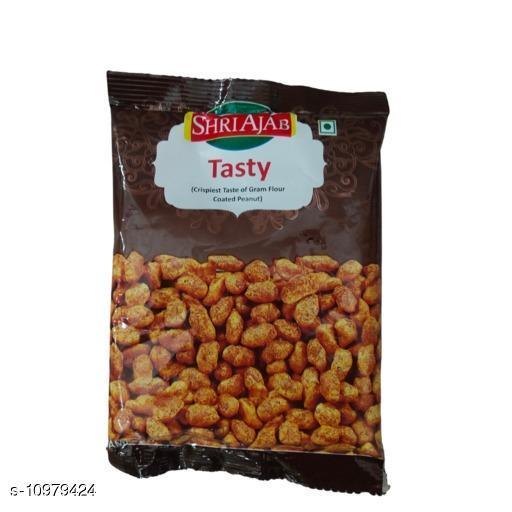 Chips & Namkeen SHRIAJAB's TASTY  *Brand Name * HRIAJAB's TASTY  *Capacity * 15 gm  *Multipack * 10  *Sizes Available* Free Size *    Catalog Name: HRIAJAB's TASTY CatalogID_2034027 C89-SC1776 Code: 821-10979424-